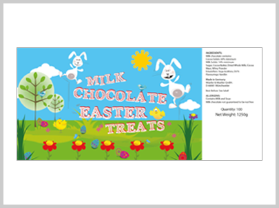 Wawi Easter Treats Illustraion Design Packaging