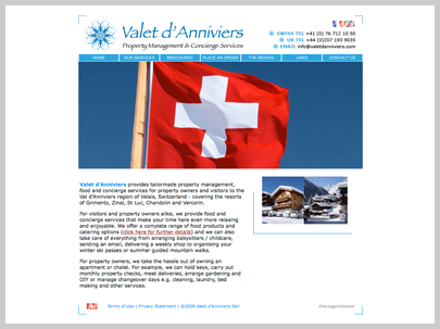 Valais d´Annivier Swiss Holiday Catering Website Onlineshop